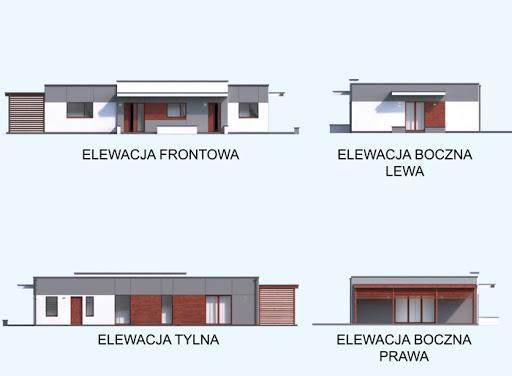 Sari dom dwulokalowy - Elewacje