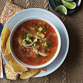 Mexican Tortilla Soup.