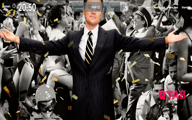 Leonardo Dicaprio New Tab Movie Wallpapers