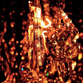 by Joelle McGraw - Artistic Objects Glass ( fashion, jewellery, glass, dark, crystal, light )