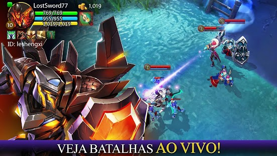 Heroes of Order & Chaos Screenshot