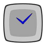 Screen Clock Icon