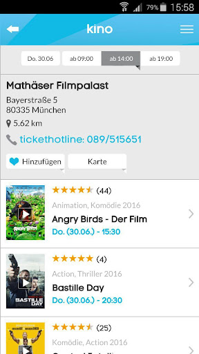 kinoradar - Kino, Filme & mehr 3.2.2 screenshots 6