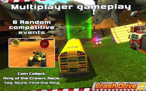 Crash Drive 2: Racing 3D Game - screenshot thumbnail