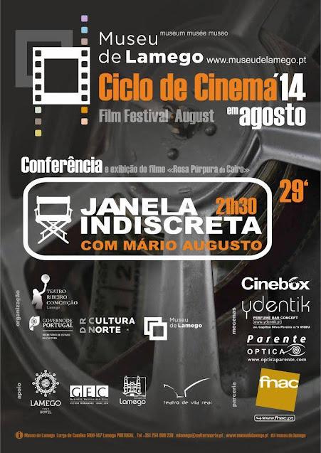 Mário Augusto encerra Ciclo de Cinema do Museu de Lamego
