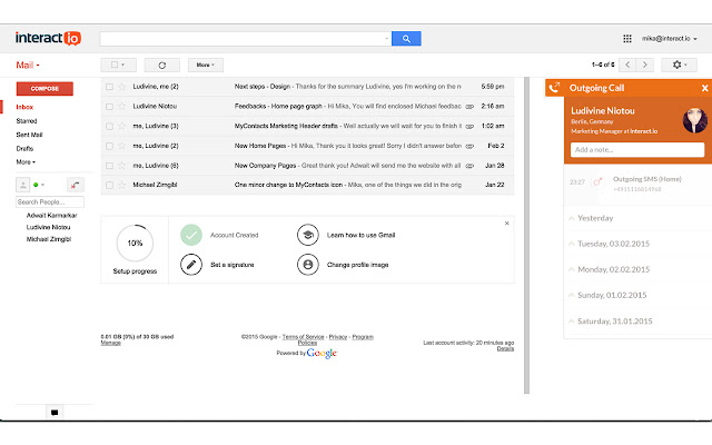MyContacts for Gmail