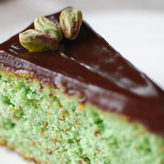 Pistachio Rosewater Cake