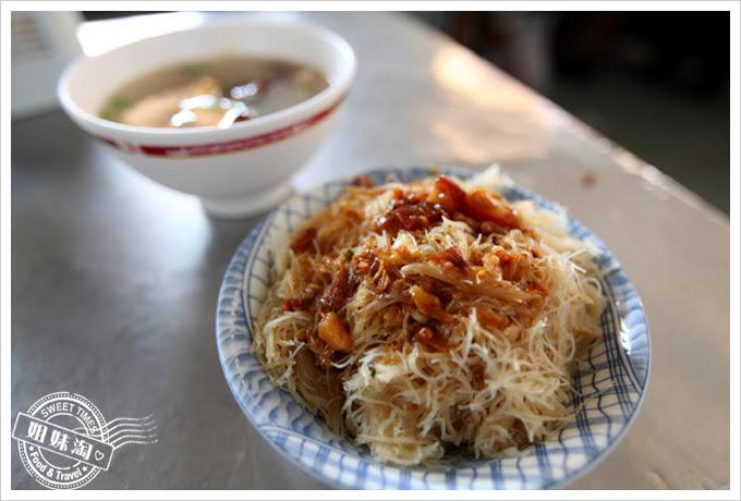 潮魯滷肉飯-炒米粉