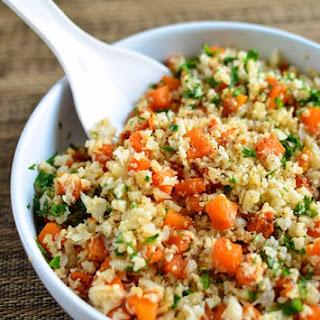 Roasted Butternut Squash Cauli Rice