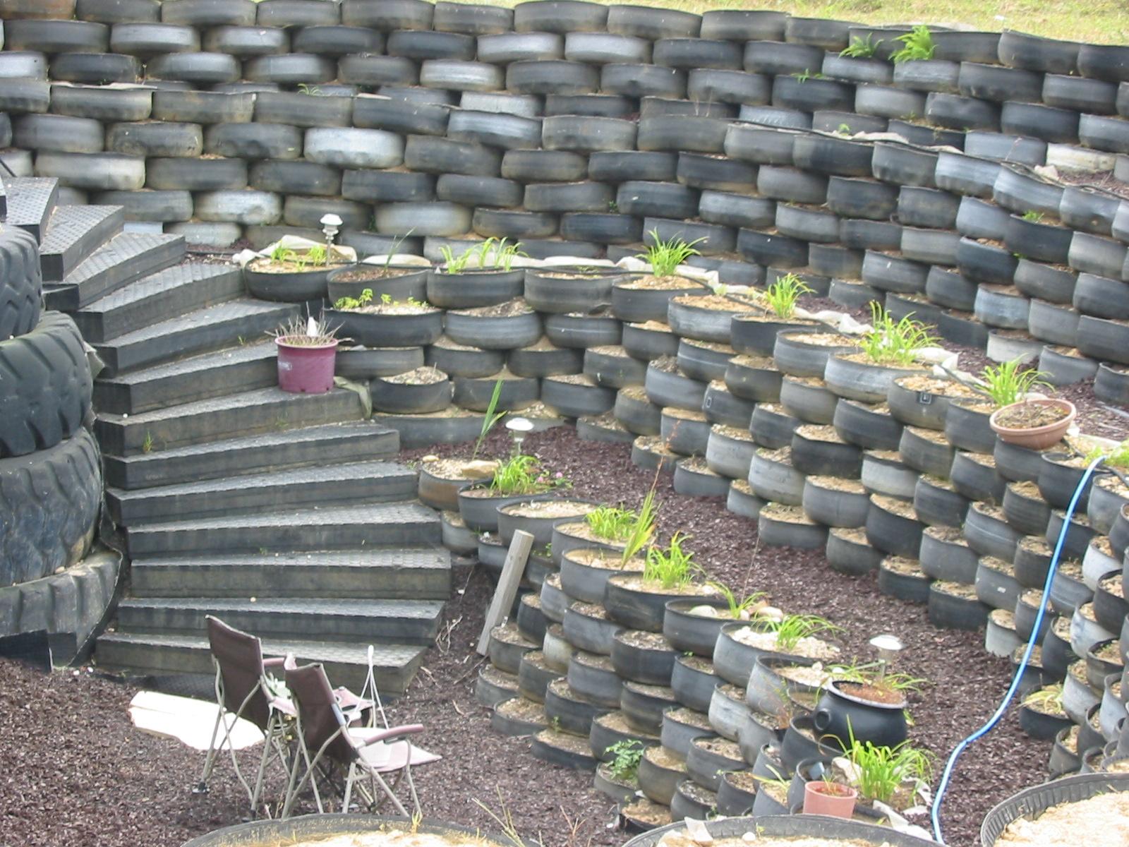 Photo: Packin' Tire Garden 02