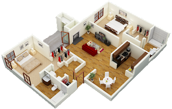 Go to Lodge Floorplan page.