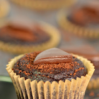 Gluten-free Chocolate Avocado Cupcakes