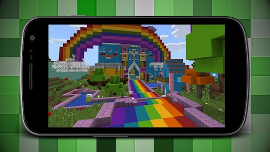 Colored House Map for Minecraft MCPE - náhled
