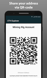 Ethereum Block Explorer - náhled