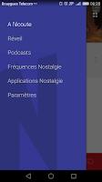 Screenshot of Nostalgie Radio