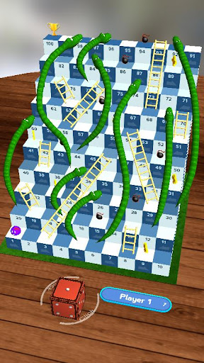 Snakes and Ladders, Slime - 3D Battle 1.42 screenshots 3