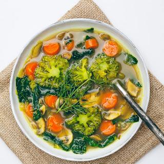Eat Your Greens Detox Soup.