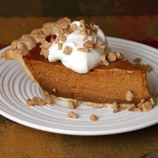 Dulce de Leche Pumpkin- Toffee Pie