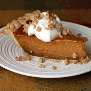 Dulce de Leche Pumpkin- Toffee Pie.