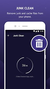 Pin Clean - Junk Cleaner & Memory Booster- screenshot thumbnail