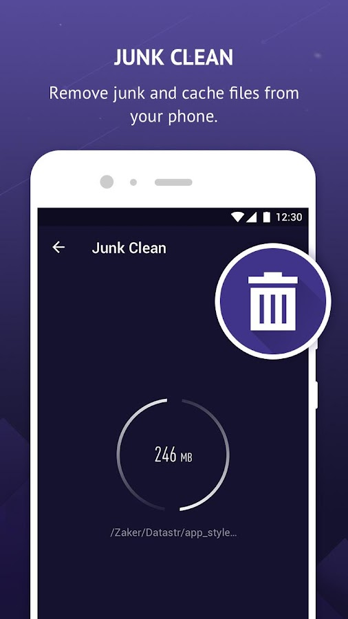 Pin Clean - Junk Cleaner & Memory Booster- screenshot