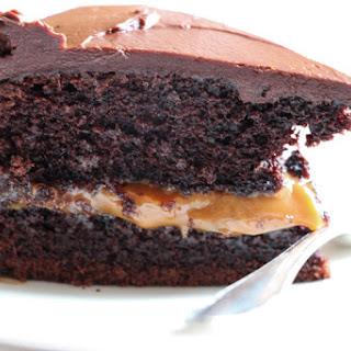 Chocolate & Dulce De Leche Cake Recipe