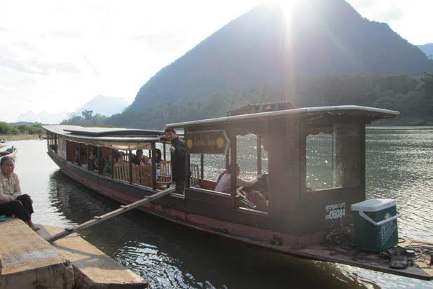 Luang Prabang boat trip
