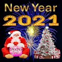 Happy New Year Stickers 2021 - WAStickerApps icon