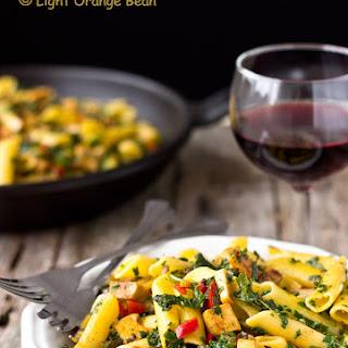 Roasted Tofu and Kale Pasta Salad Recipe