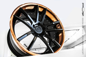 Photo: PUR WHEELS DESIGN ONE DEPTH  ROSE GOLD CONCEPT http://www.ac.auone-net.jp/~ever_g/tire/index.html