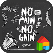 No Pain... LINE Launcher theme