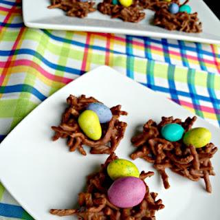 Chocolate Peanut Butter Bird's Nests