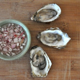 Oysters with Mignonnette Sauce Recipe