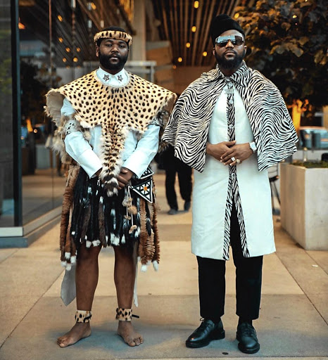 Sjava and Cassper interpreted being African differently at the recent BET awards.