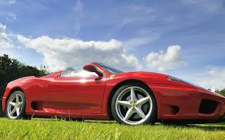 Ferrari 360 F1 Spider Rent Fyn