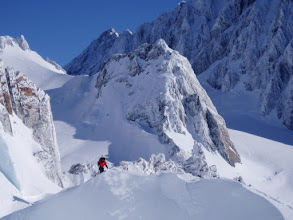 Photo: Guided Ski Touring in NZ