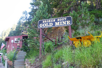 Photo: Our first stop of the day, the Broken Boot Gold Mine, just outside of Deadwood.