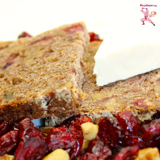 Whole Wheat Cranberry and Walnut Bread.