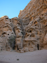 Photo: Steps carved into sandstone