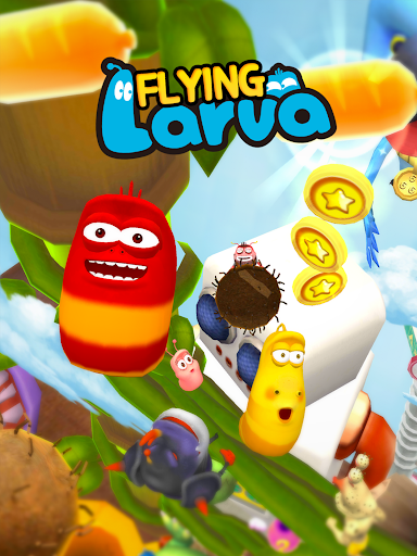玩免費休閒APP|下載Flying LARVA app不用錢|硬是要APP