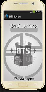 BTS - Lyrics - náhled