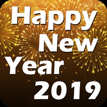 Happy New Year Greetings 2019 - Hindi English Wish Hileli APK indir 1.4