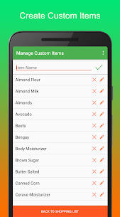 Simplest Shopping List Pro 2.1.0 MOD for Android 2