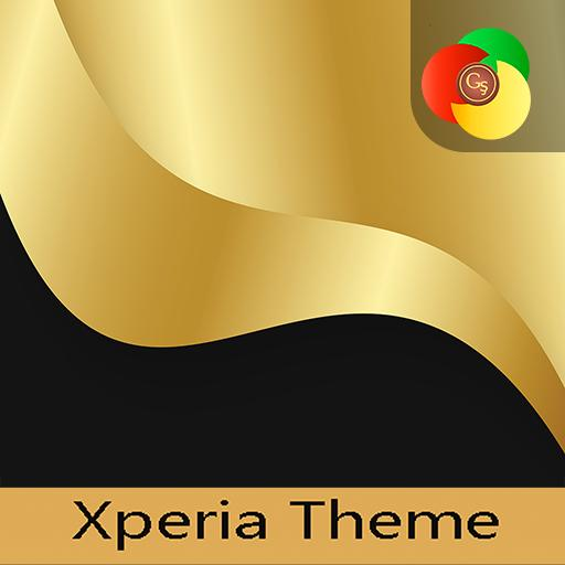Gold Black Xperia Theme Icons Apps On Google Play