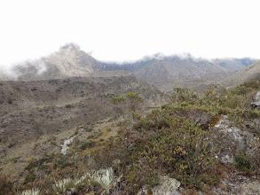 Photo: Old moraine in La Culata.