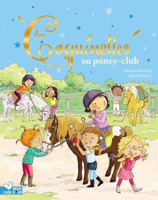 Dès 3 ans - Aujourd'hui, les Coquinettes sont invitées au poney-club pour l'anniversaire de Margaux. Elles rêvent de voir les poneys et les chevaux. Mais une fois arrivées, quelle agitation au centre équestre ... Juste de quoi nourrir une histoire à rebondissements, comme on les aime! - Parution le 10 juillet