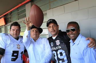 Photo: Lula vai a final de campeonato de futebol americano em São Paulo. Foto: Ricardo Stuckert/Instituto Lula.
