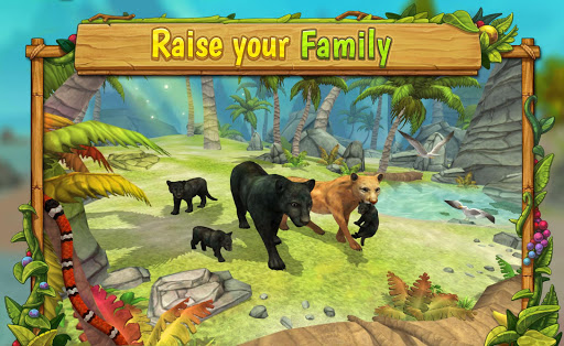 Télécharger Panther Family Sim Online - Animal Simulator APK MOD (Astuce) screenshots 1