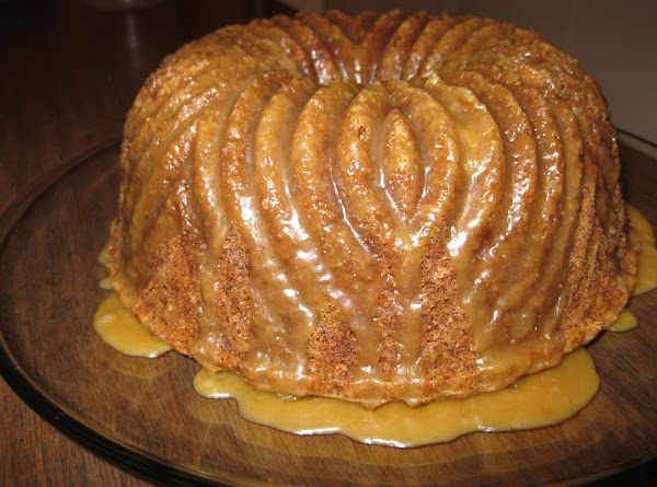 Spicy Apple Pecan Cake Recipe
