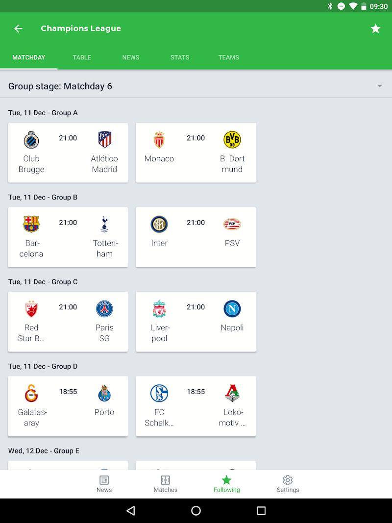 Onefootball - Soccer Scores Screenshot 12